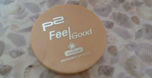 test puder p2 feel good mineral compact powder nuance 010 nude feather testbericht von. Black Bedroom Furniture Sets. Home Design Ideas