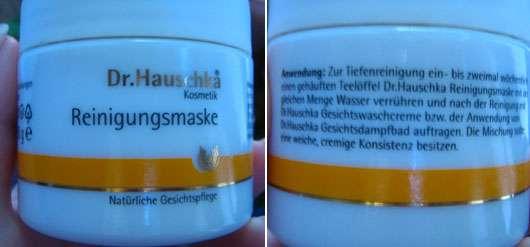 Dr.Hauschka Reinigungsmaske