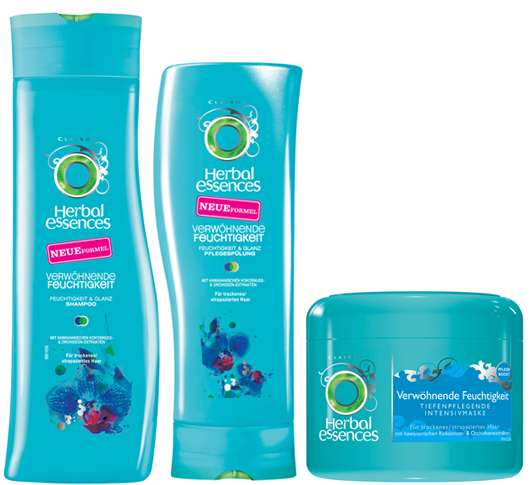 Paradiesische Haarpflege mit Herbal Essences