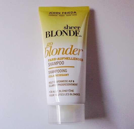 John Frieda sheer BLONDE go blonder Farb-Aufhellendes Shampoo
