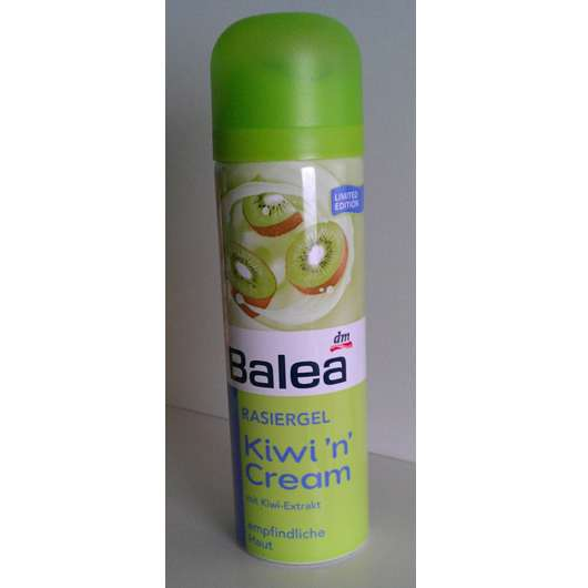 Balea Rasiergel Kiwi'n'Cream (aktuelle Sommer-LE)
