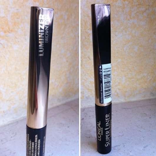 L'Oréal Paris Super Liner Luminizer, Farbe: Black Diamond/Brown Eyes