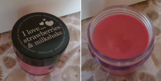 I love…strawberries & milchshakes lip balm