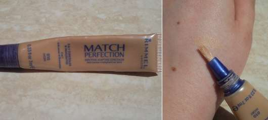 Rimmel London Match Perfection Concealer, Farbe: 010 ivory