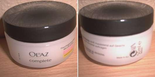 Olaz complete Feuchtigkeitspflege mit UV- Schutz