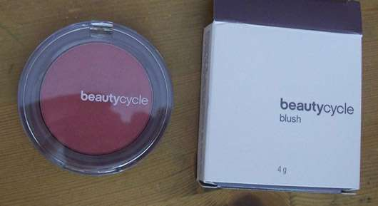 test rouge blush beautycycle blush farbe passion plum testbericht von vivivw. Black Bedroom Furniture Sets. Home Design Ideas