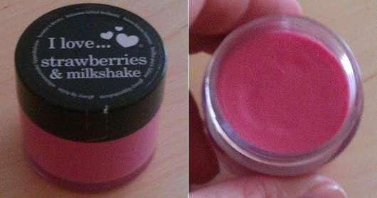 I love… strawberries & milkshake lip balm
