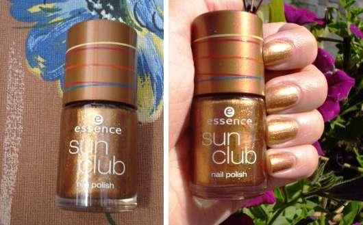 essence sun club nail polish, Farbe:  BBC Golden Sands (Limited Edition)