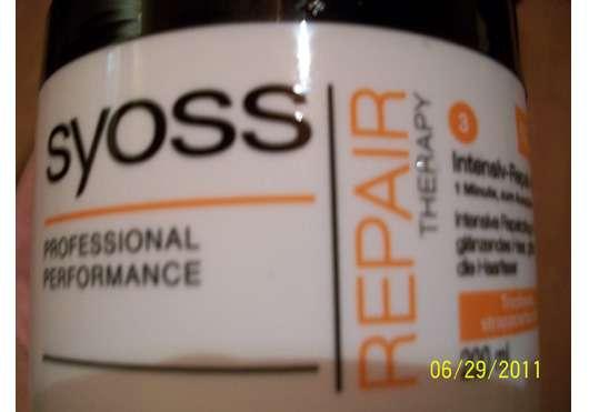 Syoss Repair Therapy Intensiv-Repair-Kur