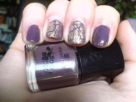 essence you rock nail polish, Farbe: 02 LOVE; PEACE AND PURPLE (Limited Edition)