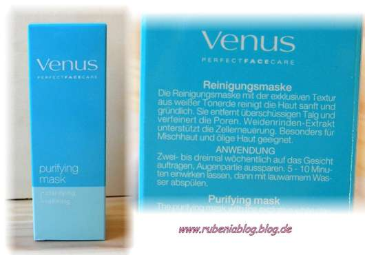Venus Perfect Face Care Purifying Mask