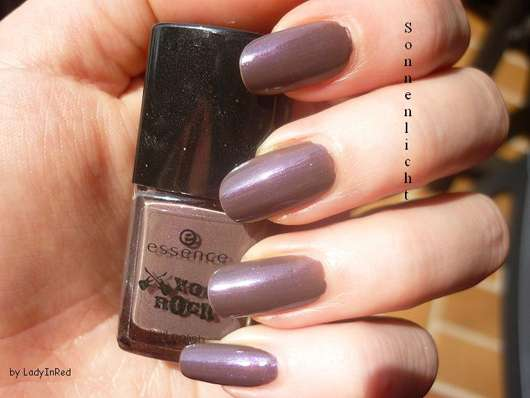"""essence """"you rock!"""" nail polish, Farbe: 02 love, peace and purple (Limited Edition)"""