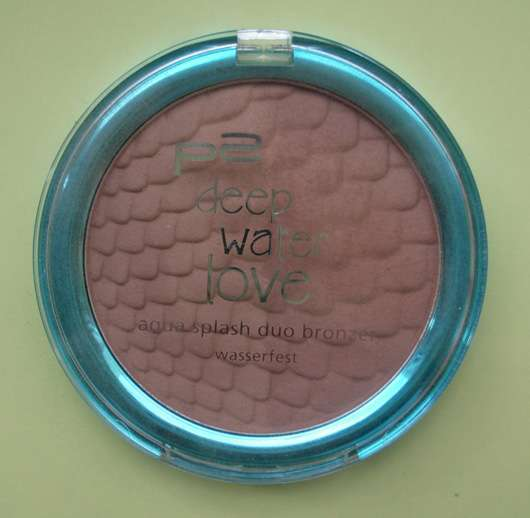 p2 deep water love aqua splash duo bronzer, Farbe: 010 sun kissed (Limited Edition)