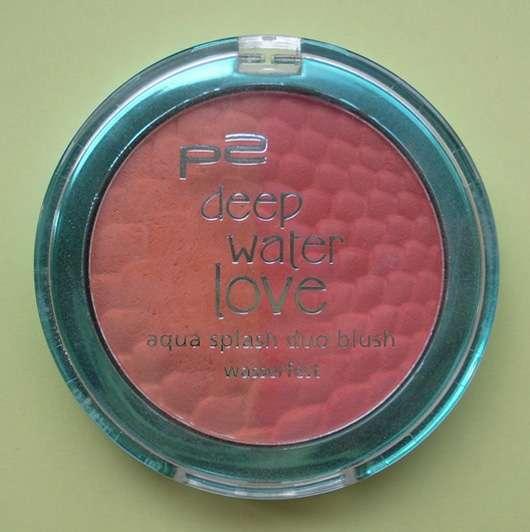 p2 deep water love aqua splash duo blush, Farbe: 010 fresh apricot (Limited Edition)