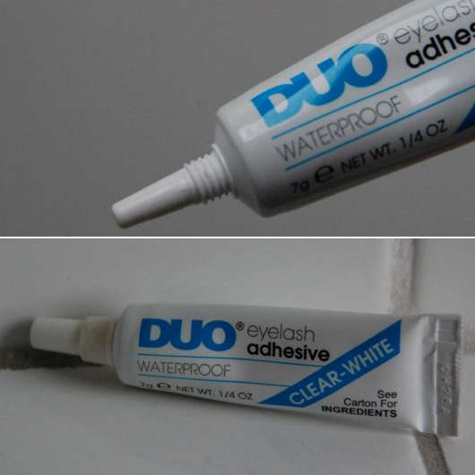 DUO eyelash adhesive Wimpernkleber – Clear-White