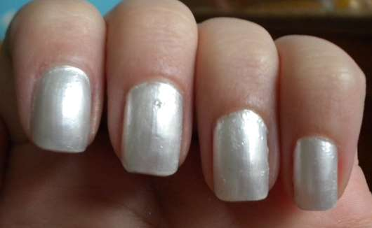 Test - Nagellack - Maybelline Jade Forever Strong Professional Nagellack Farbe 77 Pearly White ...