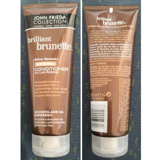 Test Spülung John Frieda Collection Brilliant Brunette Shine