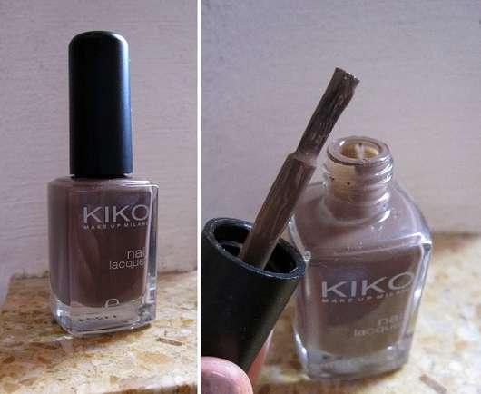 KIKO nail laquer, Farbe: 321 Tortora