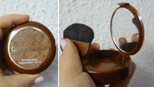 "L'Oréal ""Glam Bronze"" Bronzing Puder, Farbe: 04 Universal Sun"