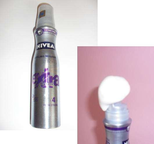 "Nivea ""extra strong"" Styling Mousse"