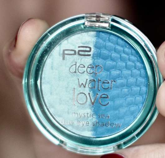 p2 deep water love mystic sea duo eyeshadow, Farbe: 030 Poseidon (Limited Edition)