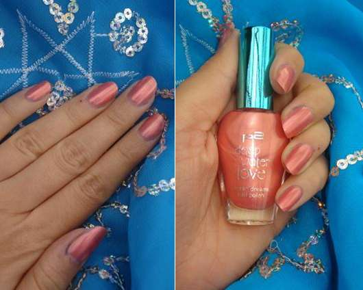 p2 deep water love nail polish, Farbe: 040 rosy coral (Limited Edition)