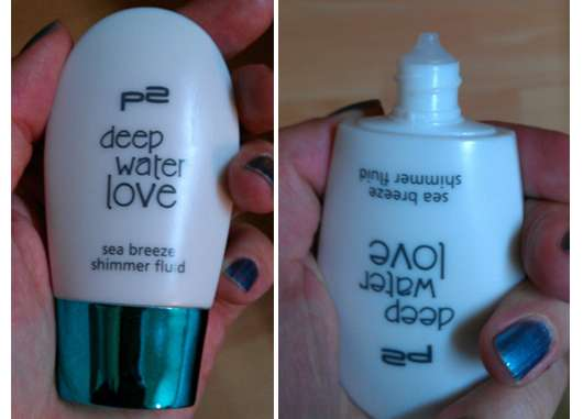 p2 deep water love sea breeze shimmer fluid (Limited Edition)