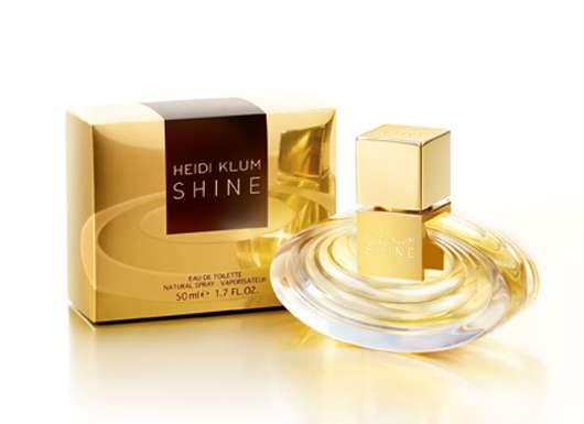 """Heidi Klum präsentiert ihren neuen Duft """"Shine"""""""