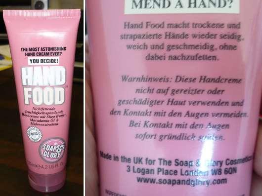 "Soap & Glory ""Hand Food"" Handcreme"