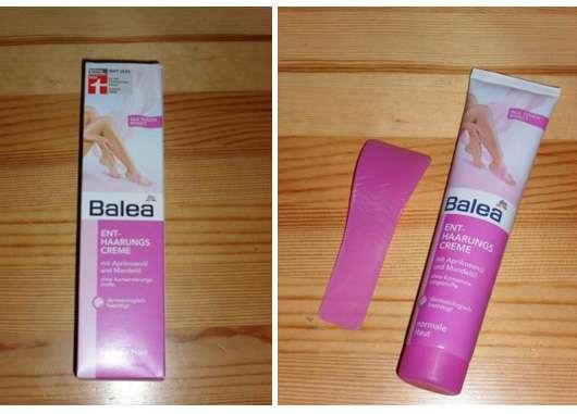 Test - Haarentfernung - Balea Enthaarungscreme (normale