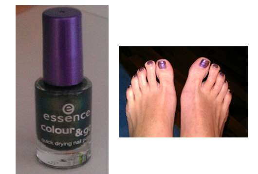 """essence colour & go Nagellack, Farbe Nr. 43 """"where is the party?"""""""