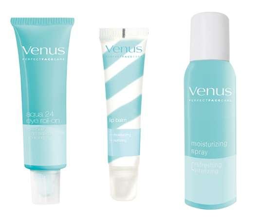 Venus Perfect Skin Care Moisturizing Line