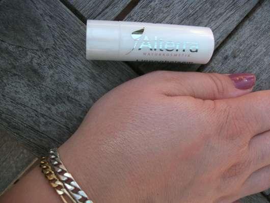 Alterra Naturkosmetik Lippenbalsam, Farbe: 04 vanilla & shine