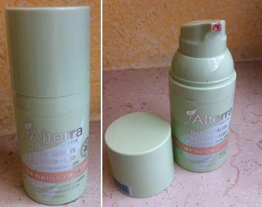 Alterra Silk Skin Make-up, Farbe: 01 beige rosé
