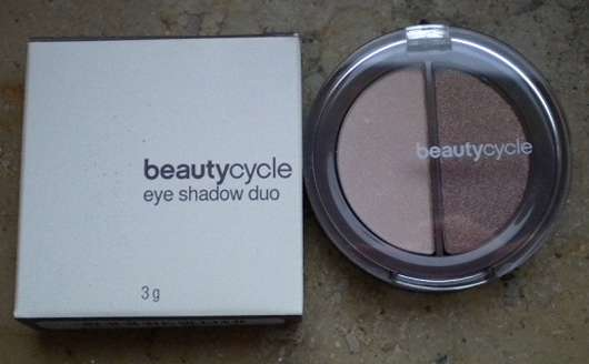 beautycycle eye shadow duo, Farbe: violette
