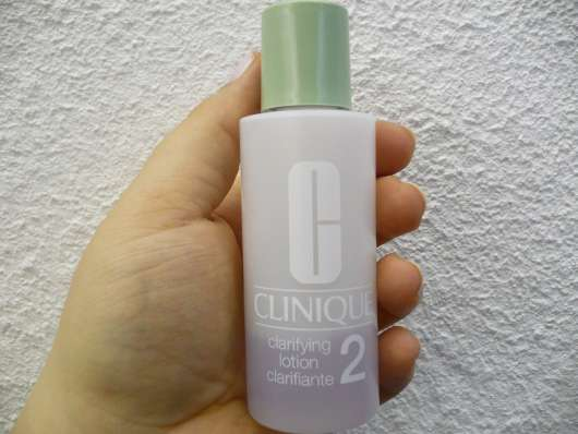 Clinique Clarifying Lotion (Hauttyp 2)