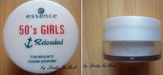 essence 50's girls reloaded translucent loose powder (Limited Edition)
