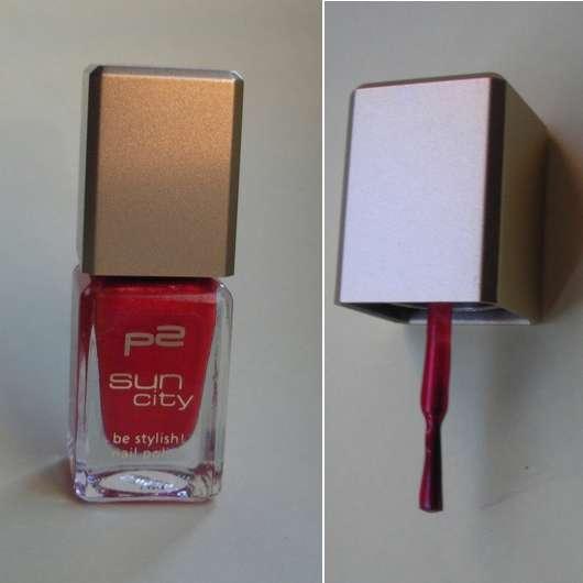 p2 sun city be stylish! nail polish, Farbe: 040 fifth avenue (Limited Edition)