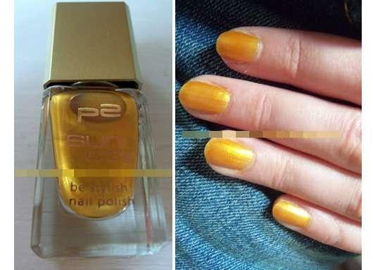 p2 sun city be stylish nail polish, Farbe: 010 ocean drive (Limited Edition)