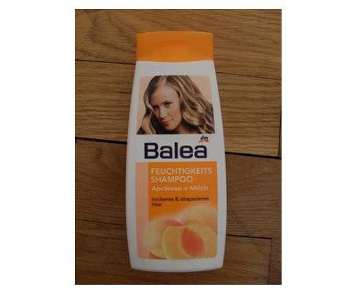 test shampoo balea feuchtigkeits shampoo aprikose milch trockenes und strapaziertes haar. Black Bedroom Furniture Sets. Home Design Ideas