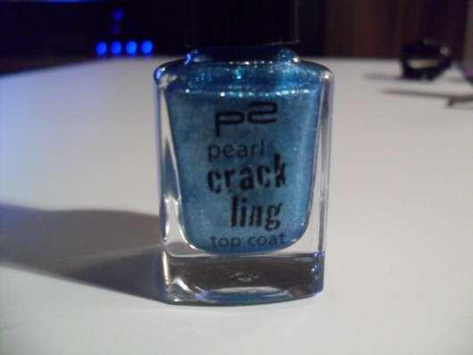 p2 pearl crackling top coat, Farbe: 020 blue thunder