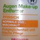 Alterra Augen Make-up Entferner Pfirsich (für normale und Mischhaut)