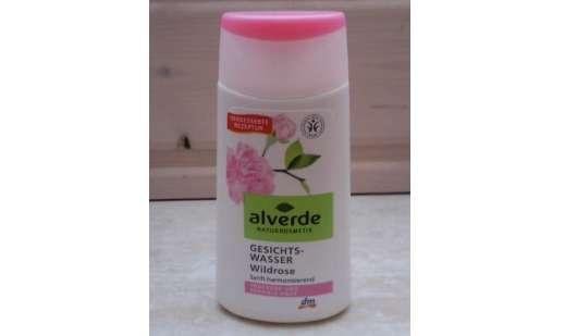 alverde Gesichtswasser Wildrose für trockene und sensible Haut