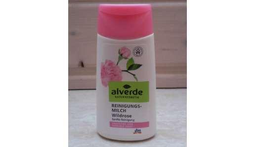 alverde Reinigungsmilch Wildrose für trockene und sensible Haut