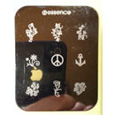 "essence nail art Stampingschablone ""Blumen"""