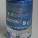 essence colour & go nail polish, Farbe: 75 gleam blue