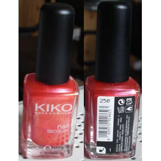 KIKO Nail Lacquer, Farbnr.: 250 Hot Pink
