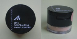 Produktbild zu MANHATTAN 2in1 Concealer & Fixing Powder – Farbe: 30 warm beige