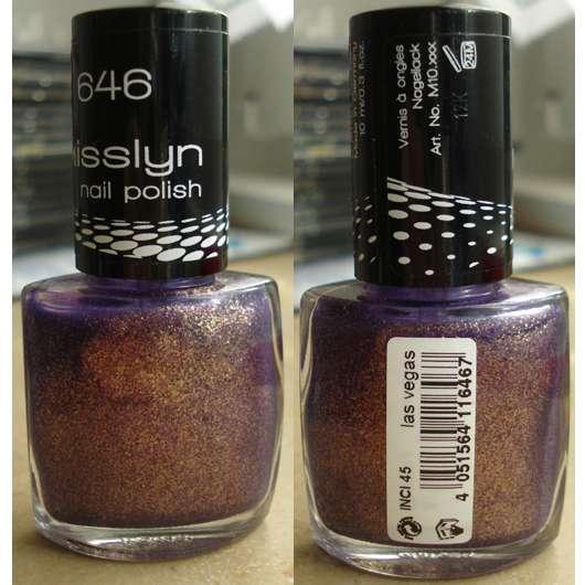 Misslyn nail polish, Farbnr.: 646 las vegas