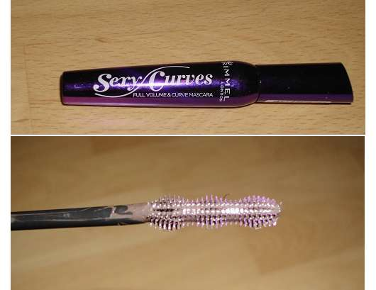 Rimmel London Sexy Curves Full Volume & Curve Mascara, Farbe: 002 Brown Black